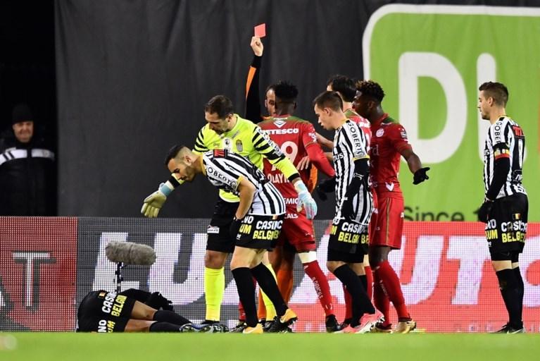 Zulte Waregem verliest met 9 tegen Charleroi 0-4