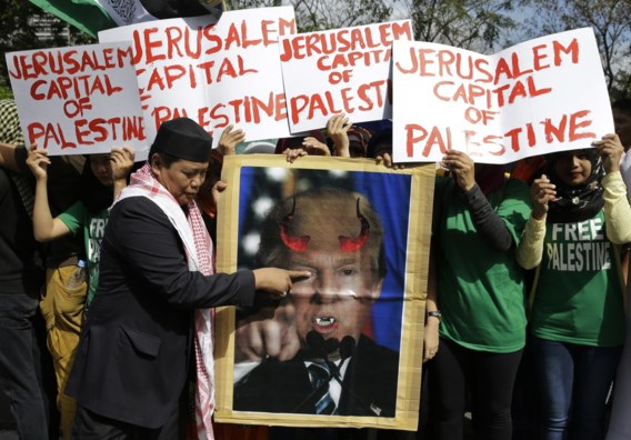 Na erkenning Jeruzalem: Trump dreigt steun aan Palestijnen af te nemen