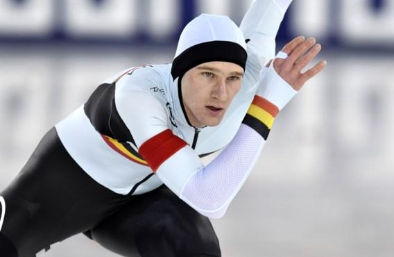 Opnieuw Belgisch record voor Mathias Vosté op 500 meter schaatsen