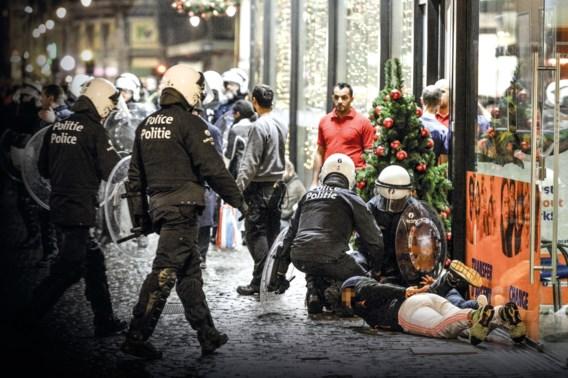 Nog eens zes Brusselse relschoppers geïdentificeerd