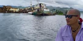 Zoon van Gene Bervoets redt zijn weggevaagd eiland