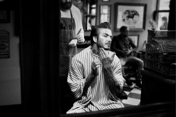 David Beckham wil mannen aan het smeren krijgen
