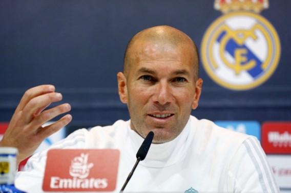 Real-trainer Zinédine Zidane heeft geen nieuwe spelers nodig tijdens wintermercato