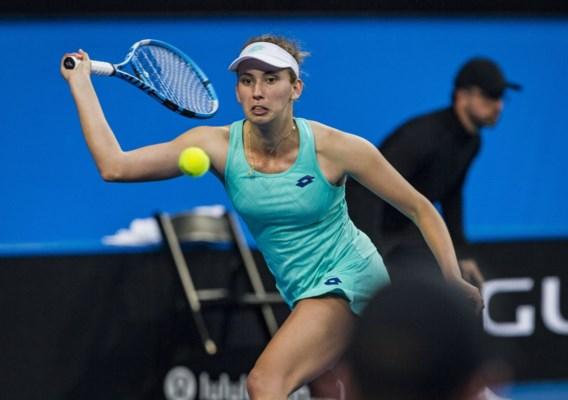 Titelverdedigster Elise Mertens staat in kwartfinales WTA Hobart