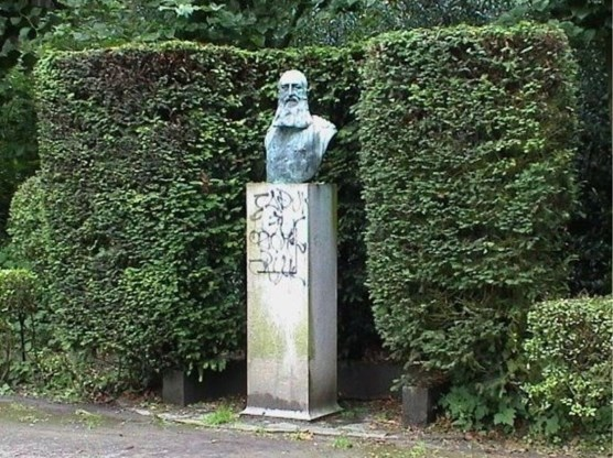 Buste van Leopold II teruggevonden in Vorst