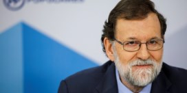 Rajoy: 'Absurd dat voortvluchtige minister-president wordt'