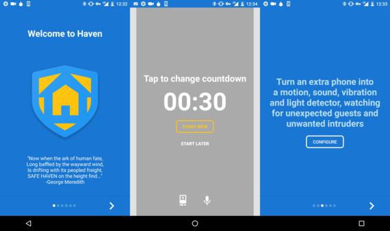 Maak van een ongebruikte smartphone een veelzijdig beveiligingssysteem