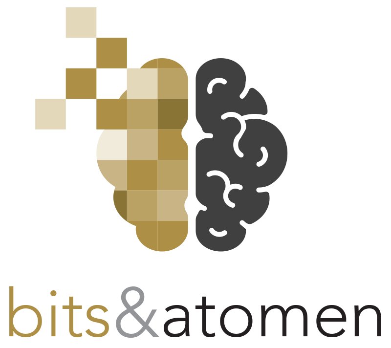 logo bits & atomen