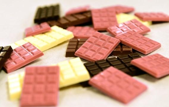 Roze chocolade vanaf vrijdag voor het eerst te koop