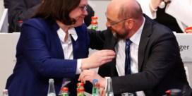 Schulz haalt opgelucht adem: politieke crisis in Duitsland afgewend