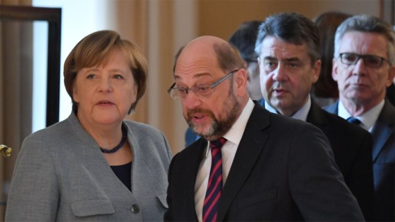 Doorbraak voor 'grote coalitie' in Duitsland