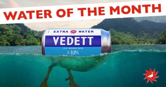 Vedett brengt '100 procent hoofdingrediënt van bier' op de markt (oftewel water)