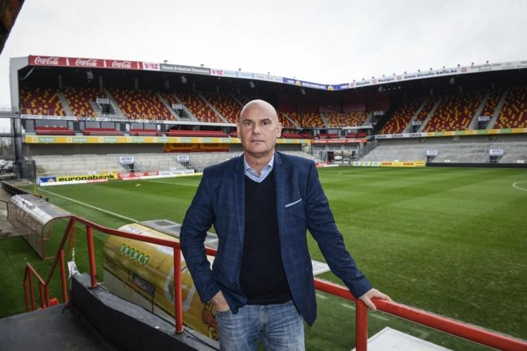 """Nieuwe coach Van Wijk is begonnen aan Operatie Redding bij KV Mechelen: """"Dit wordt een aartsmoeilijke opdracht"""""""