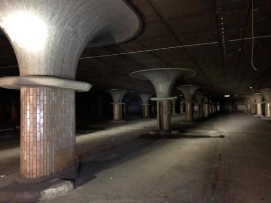 Vergeten ruimte onder Brussels Zuidstation krijgt nieuwe invulling