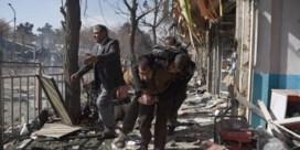 Doden en gewonden na enorme ontploffing in centrum Kaboel