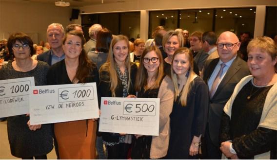 CD&V steunt Meiroos, Sint-Lodewijk en G-Lymnastiek