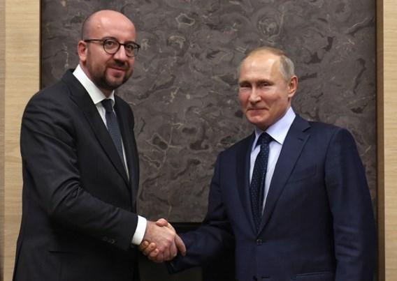 Poetin overtuigd dat bezoek Michel economie beide landen ten goede komt