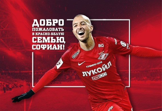 Spartak Moskou bevestigt officieel de komst van voormalig Anderlecht-kapitein Sofiane Hanni