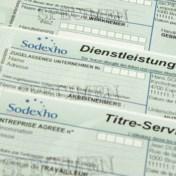 Papieren dienstencheques leveren Sodexo miljoenenboete op