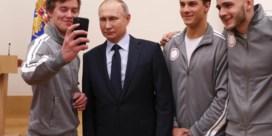 Strijd om de Russische atleet