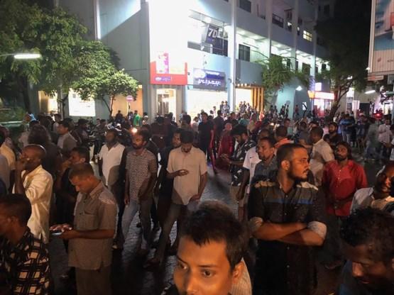Crisis op Malediven escaleert