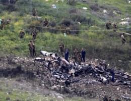 Crash F-16: 'Israël zal zich blijven verdedigen'
