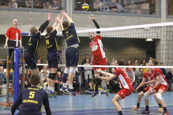Maaseik wint reguliere competitie EuroMillions Volley League