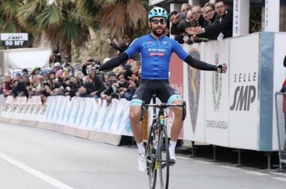 Moreno Moser rondt solo succesvol af en wint Trofeo Laigueglia, Ben Hermans beste Belg