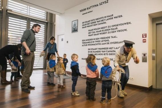 Museum pakt uit met 'buggytours' voor jonge kinderen