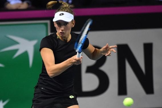 Elise Mertens strandt in 16de finales van het WTA-toernooi van Doha