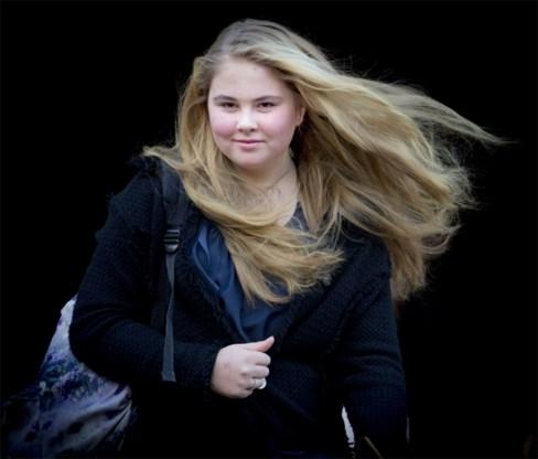 Nederlandse prinses Amalia wil school afwerken in China