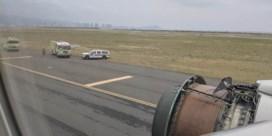 En dan valt de vliegtuigmotor plots uit elkaar