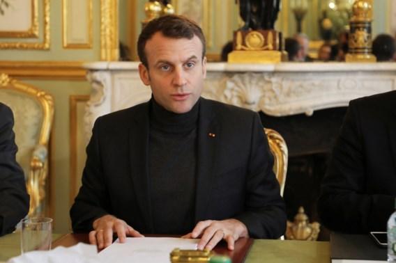 Macron dreigt met Syrische bombardementen als er bewijzen zijn van chemische wapens