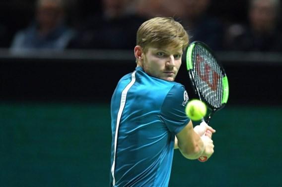 Goffin stoot makkelijk door naar kwartfinale ATP-tornooi Rotterdam