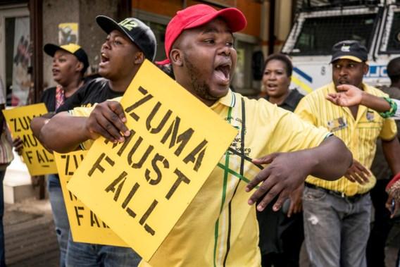 ANC roept motie van wantrouwen in tegen Zuma