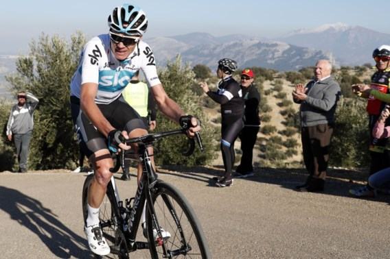 Ondanks dopingperikelen is Chris Froome gewoon kopman in Tirreno-Adriatico