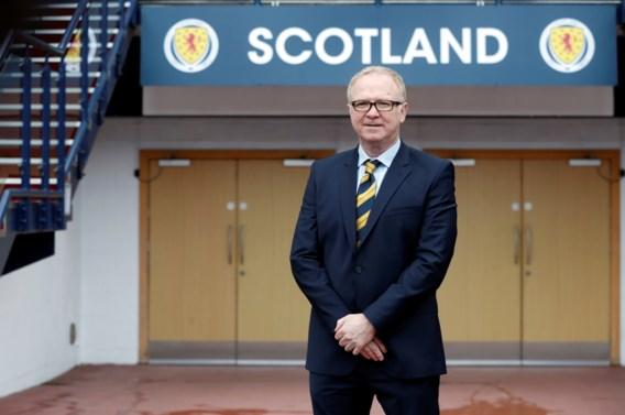 Ex-trainer Racing Genk is voor de tweede keer bondscoach van Schotland