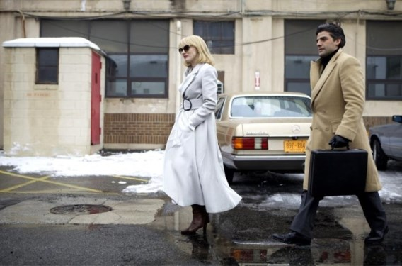 Jessica Chastain, Oscar Isaac en een maffieuze aktetas