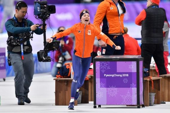 Jelena Peeters schaatst naar tiende plaats in race waar Nederlandse debutante het goud wint