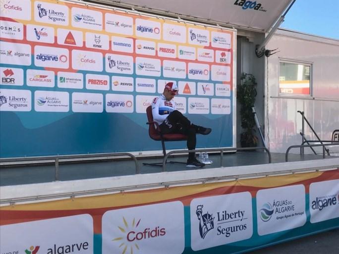 Nét niet voor Campenaerts, Geraint Thomas heerst in tijdrit Ronde van Algarve