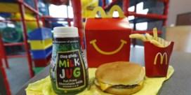 McDonald's geeft Happy Meal flinke update