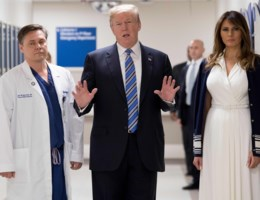'President Trump, Barron gaat ook naar school'