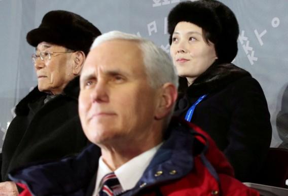 'Noord-Koreanen annuleerden ontmoeting met Pence op laatste ogenblik'