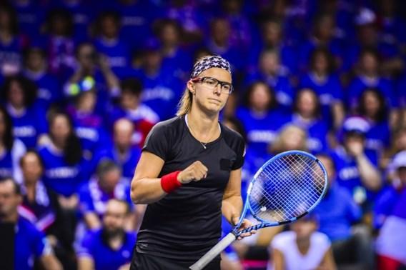 Kirsten Flipkens naar tweede ronde in Boedapest