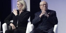 Le Pen in de schijnwerpers, maar niet Marine