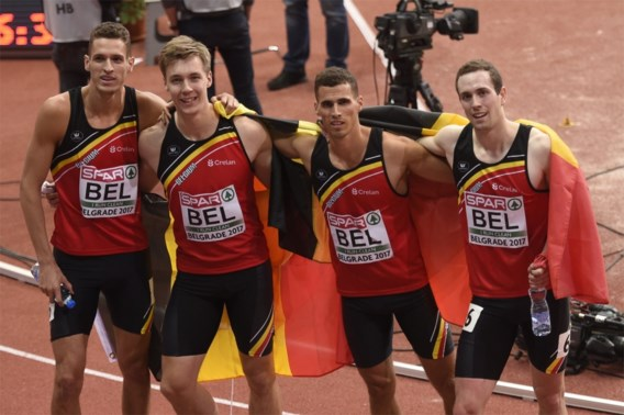 Jacques Borlée zorgt voor (on)aangename verrassing op de 4x400m op het WK indoor