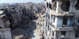 Indrukwekkende dronebeelden van Aleppo in puin