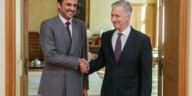 Het opmerkelijke bezoek van de omstreden emir van Qatar