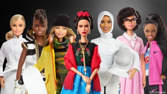 Deze nieuwe barbiepoppen lanceert Mattel voor vrouwendag