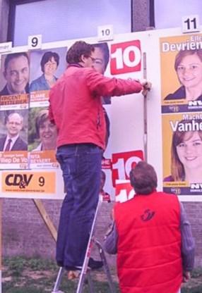 Oppositie misnoegd: CD&V laat toch verkiezingsborden toe
